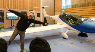 Green Flyway beste stand i hallen