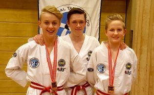 To NM-medaljer til Selbu Taekwon-Do Klubb